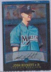 2001 Bowman Chrome #247 Josh Beckett