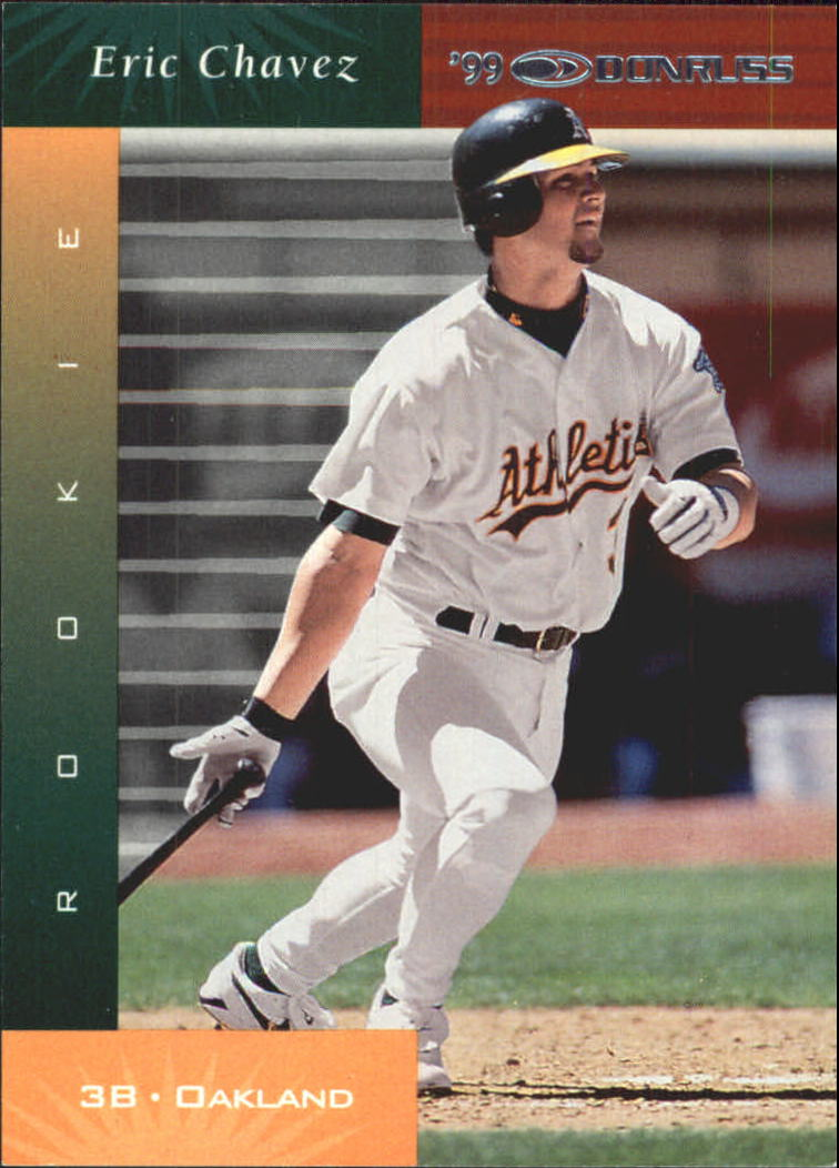 2001 Donruss 1999 Retro #85 Eric Chavez SP