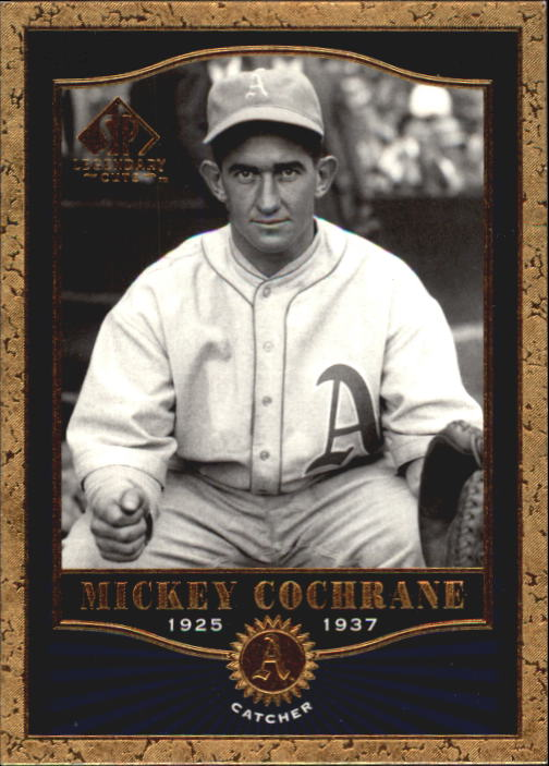 2001 SP Legendary Cuts #3 Mickey Cochrane