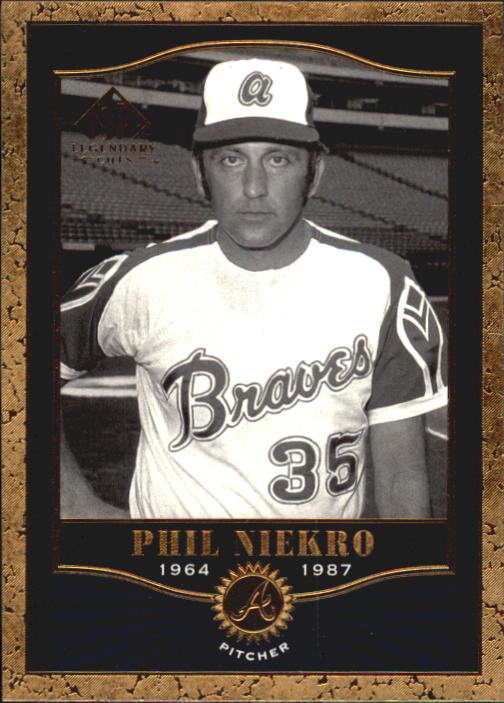2001 SP Legendary Cuts #4 Phil Niekro