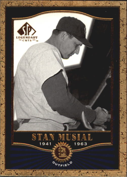 2001 SP Legendary Cuts #11 Stan Musial