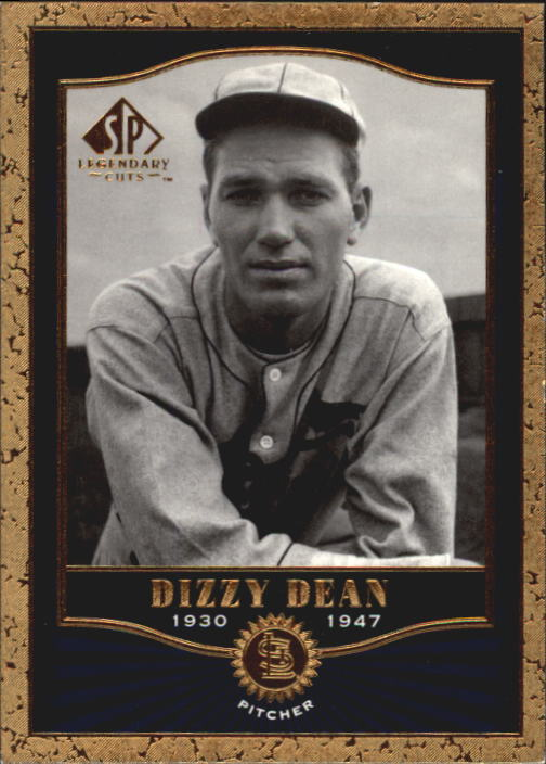 2001 SP Legendary Cuts #12 Dizzy Dean