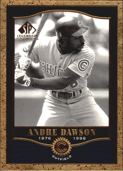 2001 SP Legendary Cuts #19 Andre Dawson