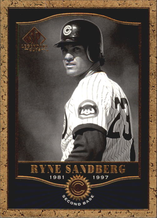 2001 SP Legendary Cuts #24 Ryne Sandberg