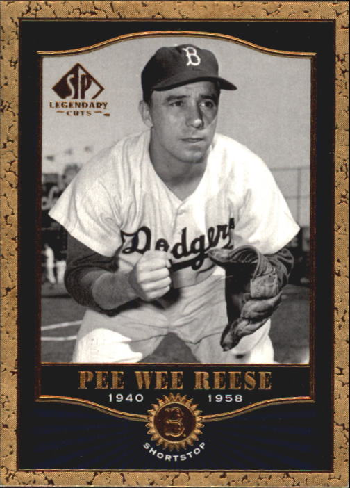 2001 SP Legendary Cuts #31 Pee Wee Reese