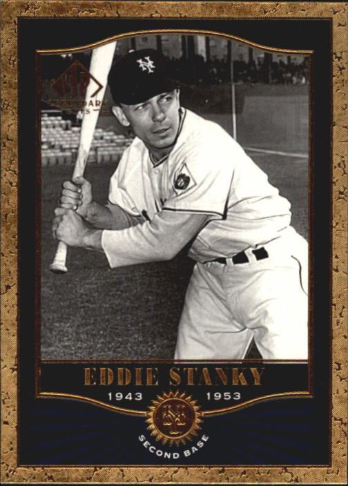 2001 SP Legendary Cuts #39 Eddie Stanky
