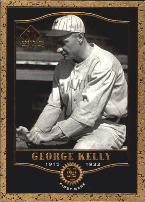 2001 SP Legendary Cuts #40 George Kelly
