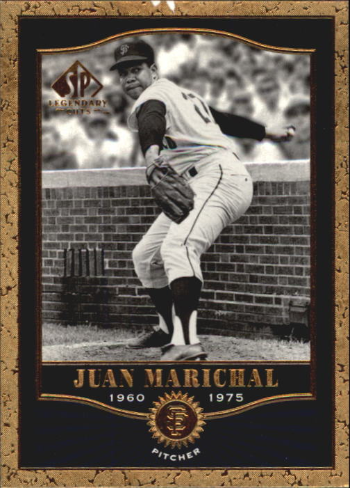 2001 SP Legendary Cuts #42 Juan Marichal