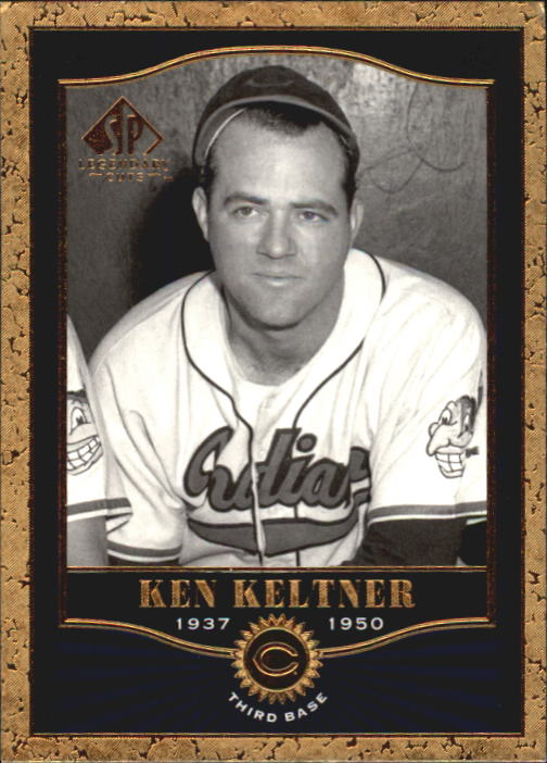 2001 SP Legendary Cuts #48 Ken Keltner