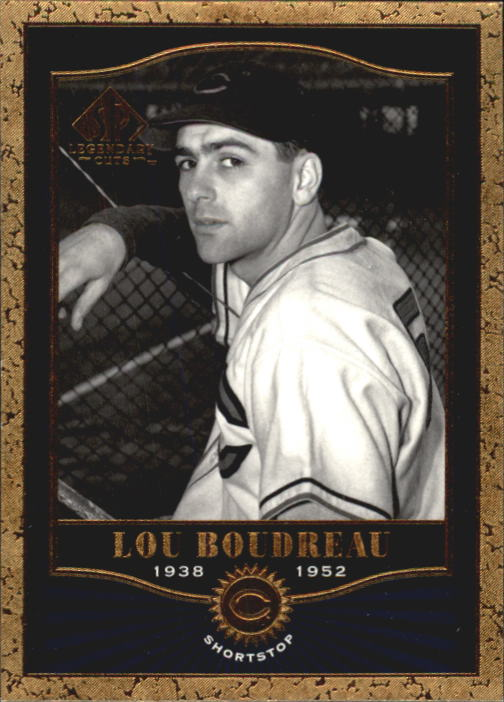 2001 SP Legendary Cuts #49 Lou Boudreau