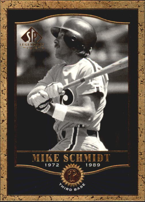 2001 SP Legendary Cuts #55 Mike Schmidt front image