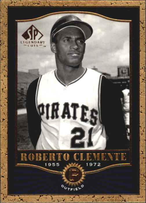 2001 SP Legendary Cuts #60 Roberto Clemente