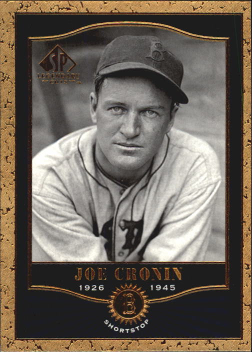 2001 SP Legendary Cuts #64 Joe Cronin