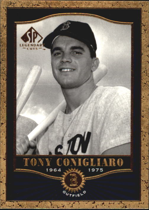 2001 SP Legendary Cuts #66 Tony Conigliaro