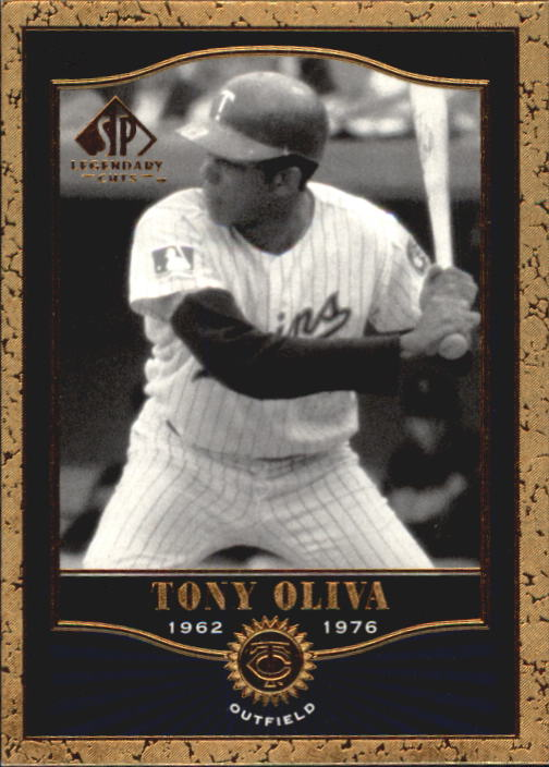 2001 SP Legendary Cuts #73 Tony Oliva