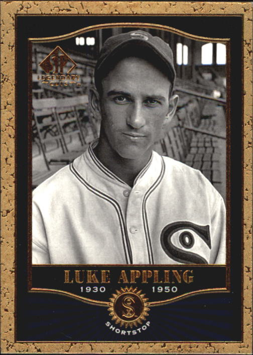 2001 SP Legendary Cuts #74 Luke Appling