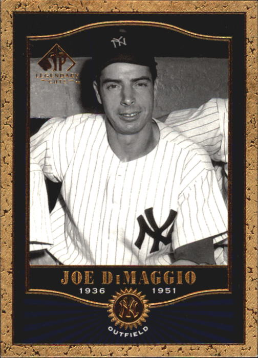 2001 SP Legendary Cuts #81 Joe DiMaggio