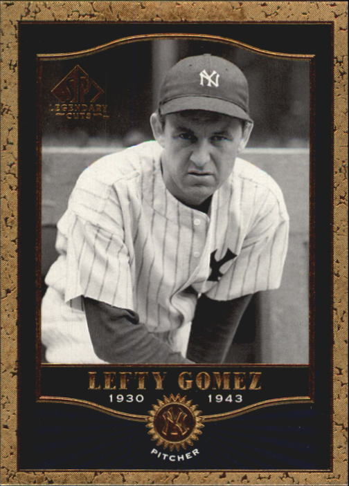 2001 SP Legendary Cuts #82 Lefty Gomez