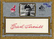2001 SP Legendary Cuts Autographs #CEA Earl Averill/189
