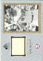 2001 SP Legendary Cuts Debut Game Bat #BGL Greg Luzinski