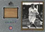 2001 SP Legendary Cuts Debut Game Bat #DHW Hack Wilson SP