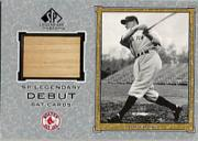 2001 SP Legendary Cuts Debut Game Bat #DJC Joe Cronin