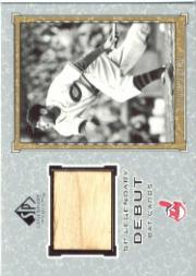 2001 SP Legendary Cuts Debut Game Bat #DLB Lou Boudreau