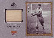 2001 SP Legendary Cuts Debut Game Bat #DPW Paul Waner SP