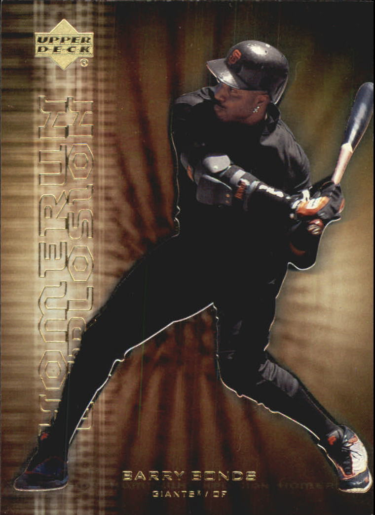 2001 Upper Deck Home Run Explosion #HR5 Barry Bonds