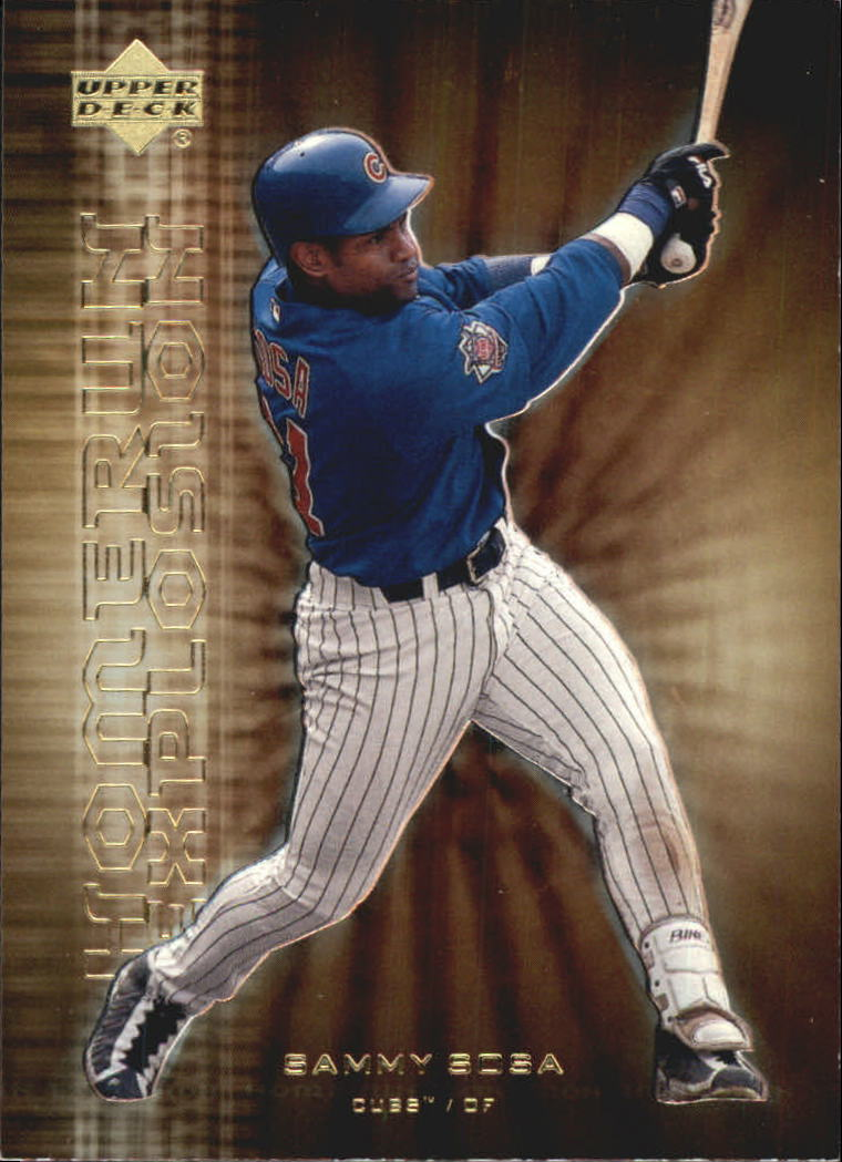 2001 Upper Deck Home Run Explosion #HR7 Sammy Sosa