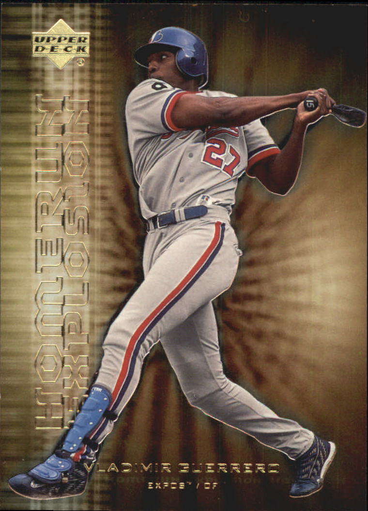 2001 Upper Deck Home Run Explosion #HR10 Vladimir Guerrero