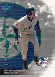 2001 Upper Deck Rookie Update Ichiro Tribute #3 Ichiro Suzuki