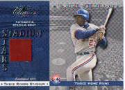 2001 Donruss Classics Stadium Stars #SS6 Vladimir Guerrero SP