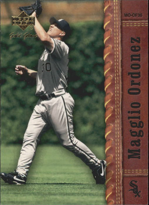 2001 Upper Deck Gold Glove #36 Magglio Ordonez