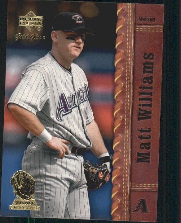 2001 Upper Deck Gold Glove #61 Matt Williams front image