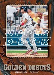2001 Upper Deck Gold Glove #130 Albert Pujols GD RC
