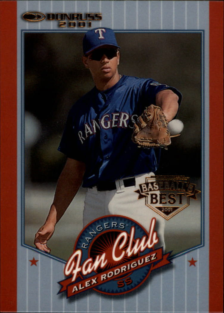 2001 Donruss Baseball's Best Bronze #201 Alex Rodriguez FC