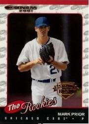 2001 Donruss Baseball's Best Bronze Rookies #R87 Mark Prior