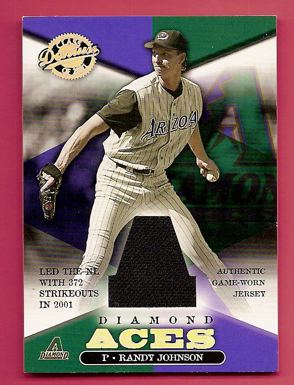 2001 Donruss Class of 2001 Diamond Aces #A2 Randy Johnson/750