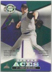 2001 Donruss Class of 2001 Diamond Aces #A6 Curt Schilling/525