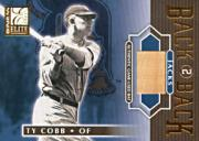 2001 Donruss Elite Back 2 Back Jacks #BB21 Ty Cobb
