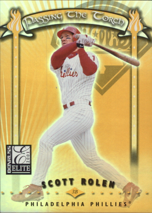 2001 Donruss Elite Passing the Torch #PT6 Scott Rolen