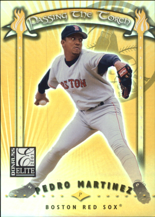 2001 Donruss Elite Passing the Torch #PT12 Pedro Martinez