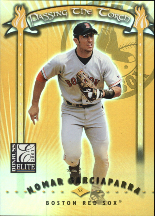 2001 Donruss Elite Passing the Torch #PT14 Nomar Garciaparra