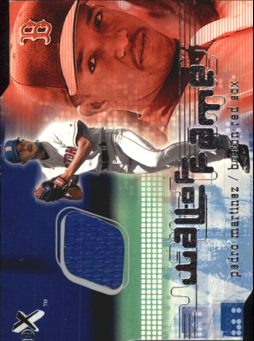 2001 E-X Wall of Fame #19 Pedro Martinez