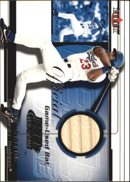 2001 Fleer Feel the Game #16 Eric Karros