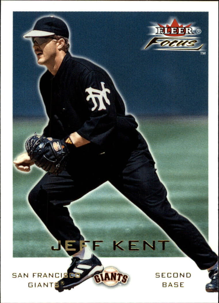2001 Fleer Focus #198 Jeff Kent