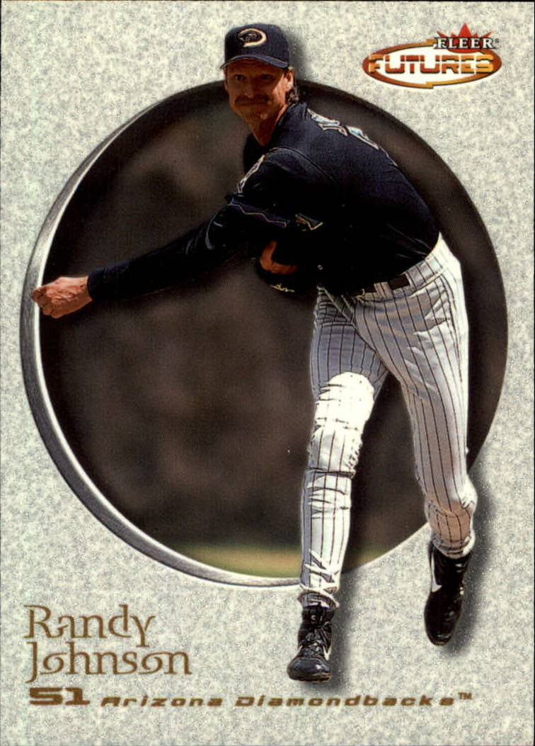 2001 Fleer Futures #7 Randy Johnson