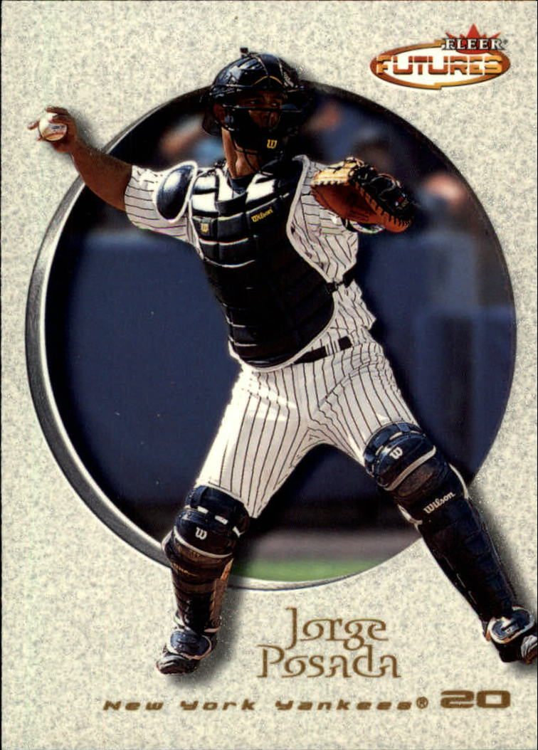2001 Fleer Futures #31 Jorge Posada