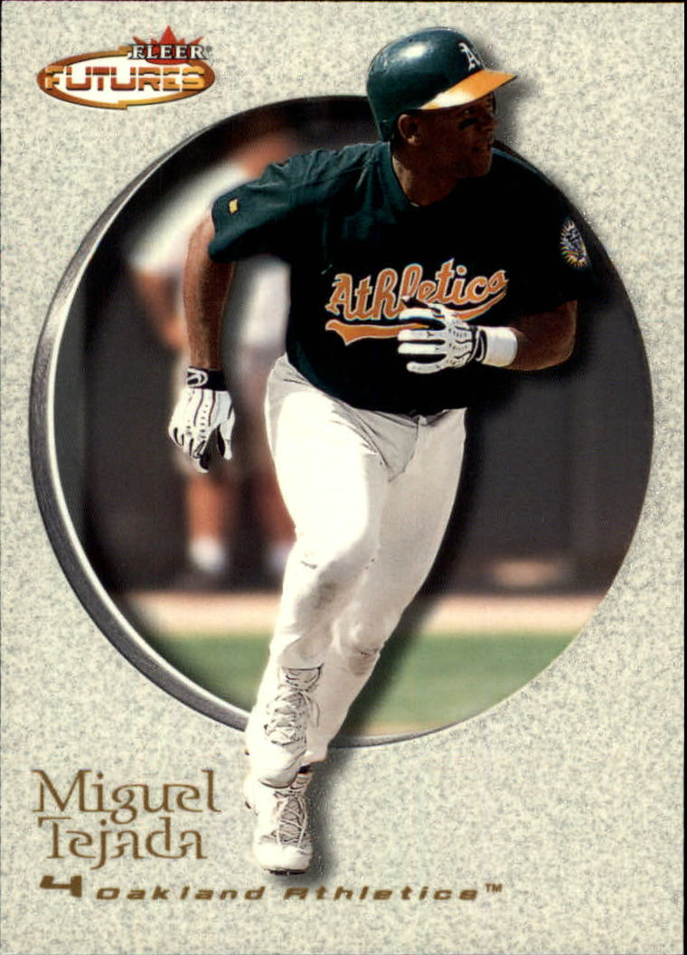 2001 Fleer Futures #36 Miguel Tejada